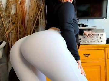 Latina With Big Butt Leggings On Cams